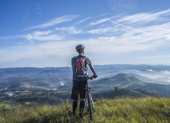 RIDER'S HIGH: Experiencing an euphoric blissful feeling from Cycling